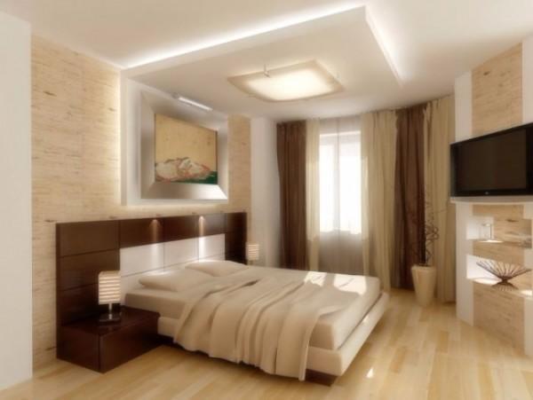 цвет потолка в спальне, фото 24