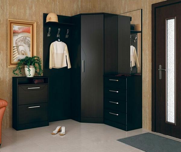угловые гардеробные комнаты дизайн проекты фото, фото 3