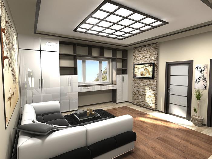 интерьеры однокомнатных квартир в современном стиле фото, фото 12