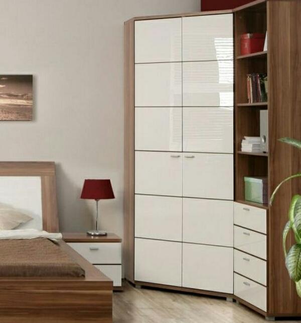 угловые гардеробные комнаты, фото 4