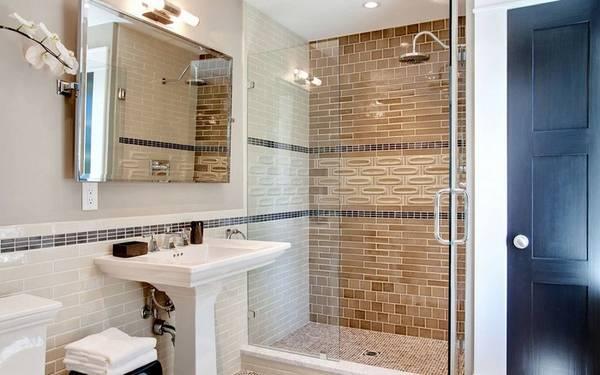 фото ванных комнат в частном доме, фото 16