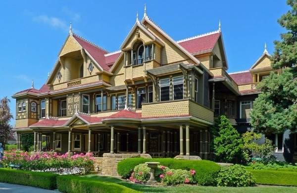 фасады домов в английском стиле
