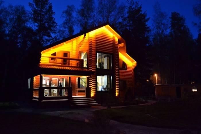 освещение дорожек в загородном доме, фото 24