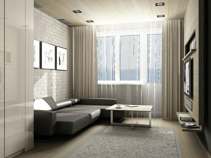 интерьер однокомнатной квартиры 18 кв м фото, фото 17