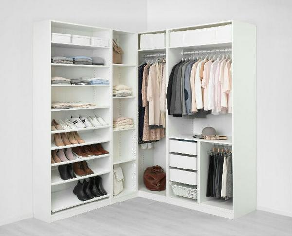 угловая гардеробная в прихожую фото дизайн идеи, фото 9
