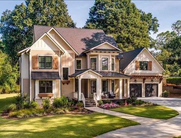 дом в английском стиле фото