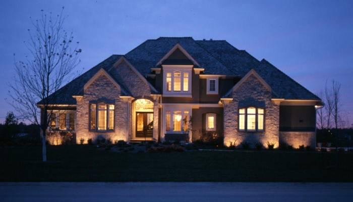 освещение участка загородного дома фото, фото 26