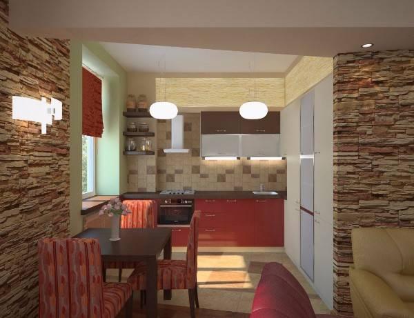 дизайн квартир двухкомнатная 60 м, фото 11