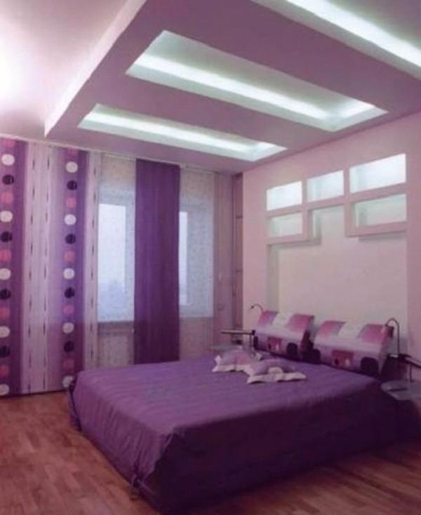 подвесной потолок в спальне фото, фото 32