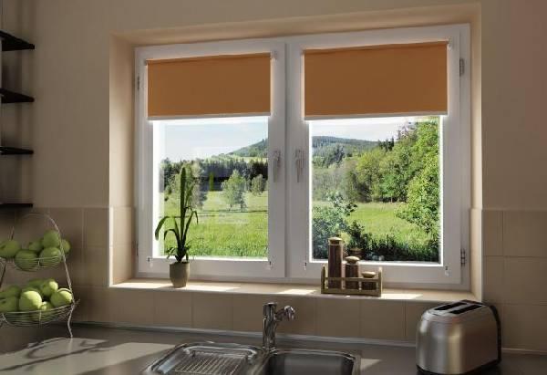 рулонные шторы на пластиковые окна, фото 19