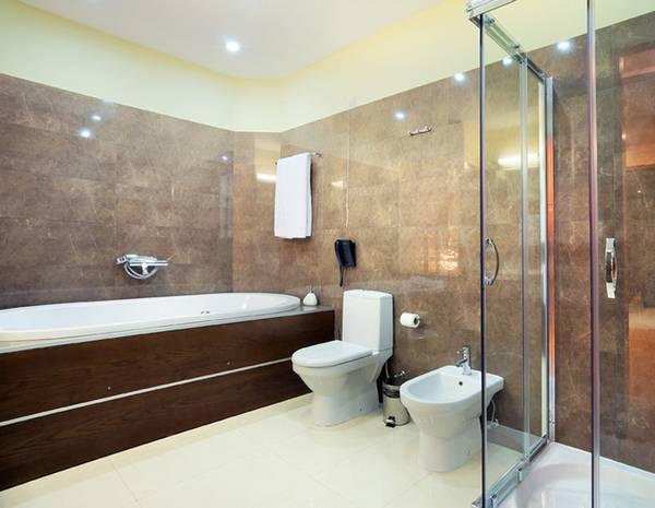 ванная комната в частном доме, фото 2