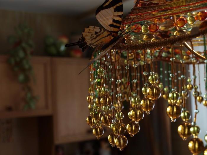 сделать абажур для настольной лампы своими руками