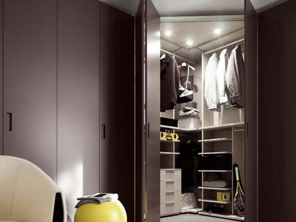 угловая гардеробная в прихожей, фото 17