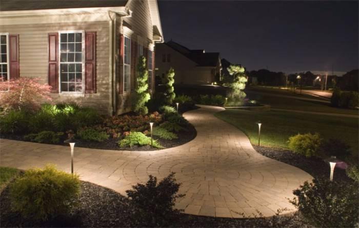 уличное освещение для загородного дома, фото 28