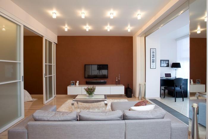 интерьеры однокомнатной квартиры 30 кв м фото, фото 22