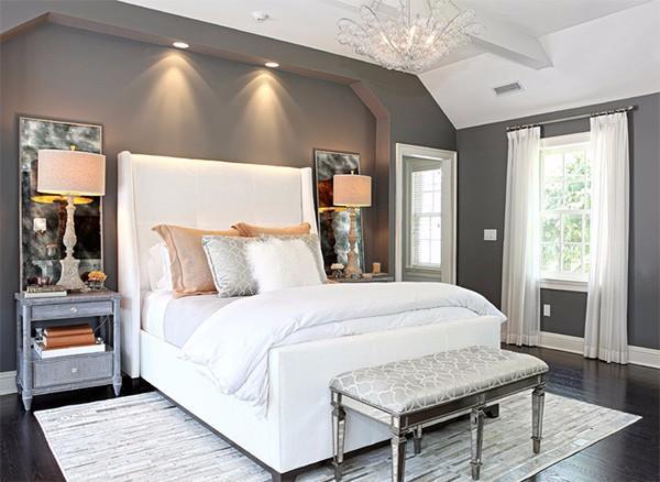 красивые потолки в спальне, фото 23