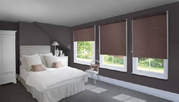 рулонные шторы на пластиковые окна фото, фото 22