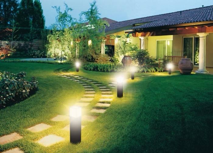 уличные настенные светильники для загородного дома, фото 30