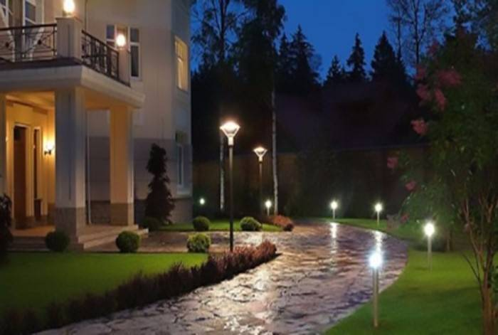 уличные светильники для загородного дома, фото 32