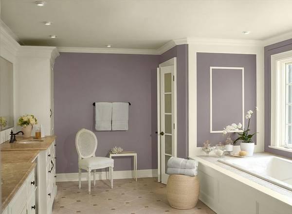 Отделка ванной окрашиванием, фото 25