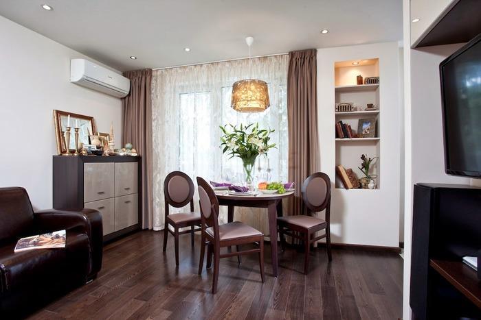 интерьеры однокомнатной квартиры 30 кв м фото, фото 26