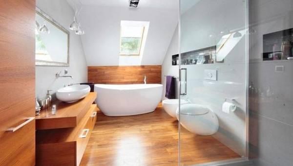 фото ванный комнат в чатном доме, фото 27