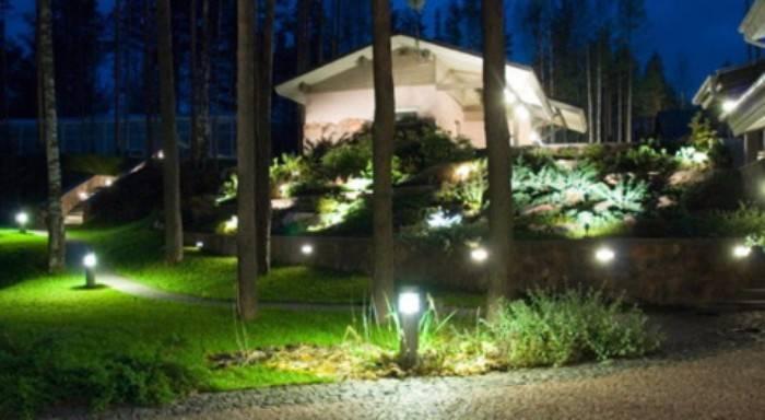 уличные светильники для дома, фото 15