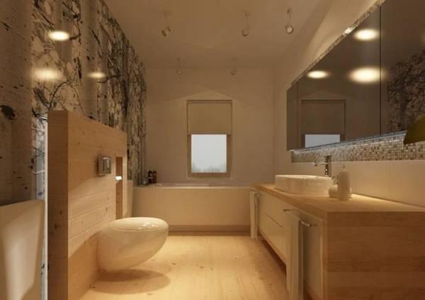ванная комната в частном доме дизайн фото, фото 28