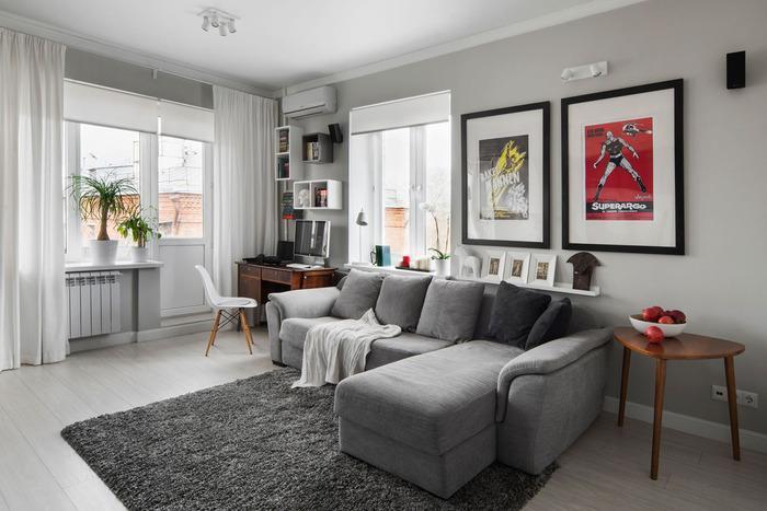 интерьеры однокомнатной квартиры 30 кв м фото, фото 28
