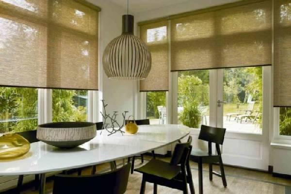 рулонные шторы на пластиковые окна фото, фото 28