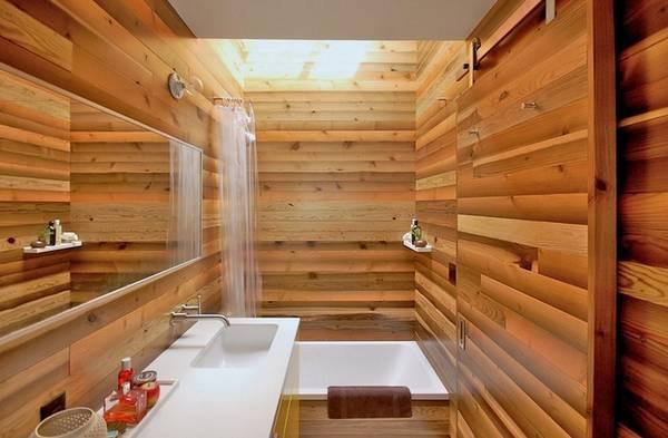 дизайн ванной комнаты в частном доме, фото 29