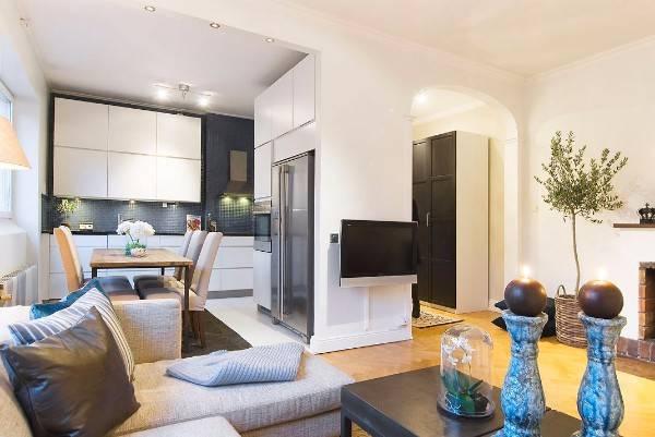 дизайн двухкомнатной квартиры 60 кв м, фото 7