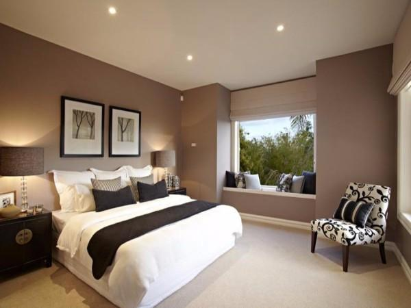 потолок в спальне, фото 39