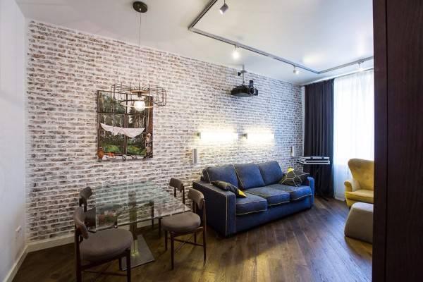 дизайн двухкомнатной квартиры 60 кв м, фото 10