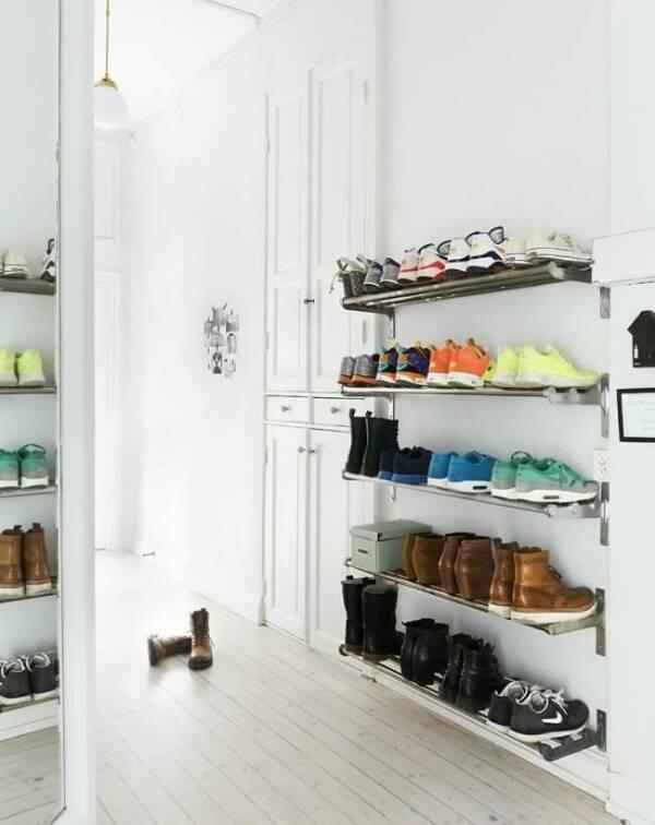 обувница в прихожую размеры