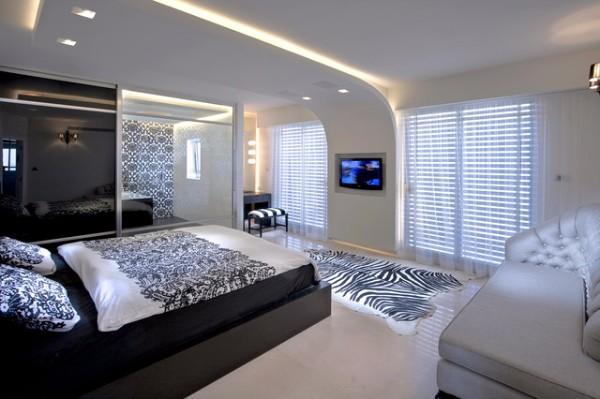 потолок в спальне, фото 19