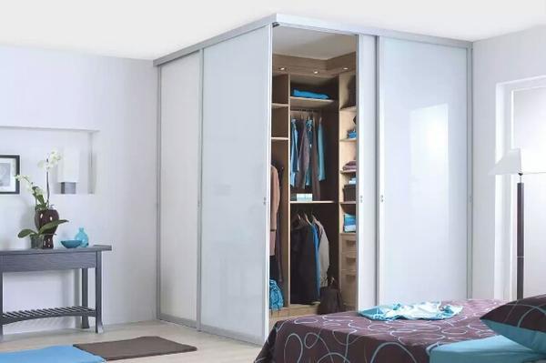 угловая гардеробная шкаф купе, фото 37