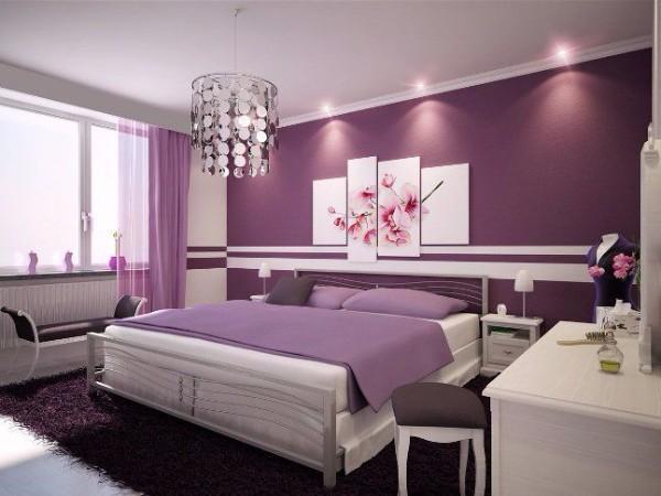 потолок спальне фото, фото 21