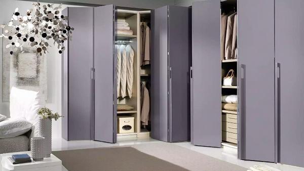 угловой шкаф гардеробная, фото 39