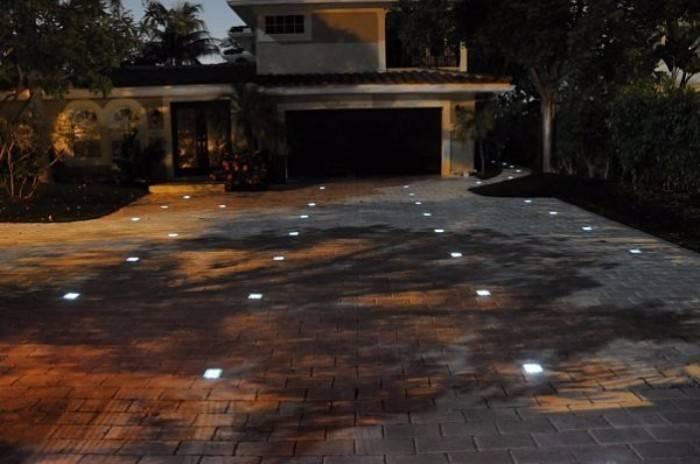 освещение дома снаружи, фото 7