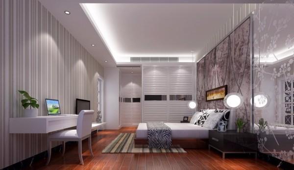 дизайн потолка в спальне, фото 10