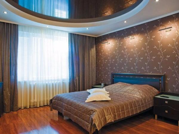 потолок спальне фото, фото 13