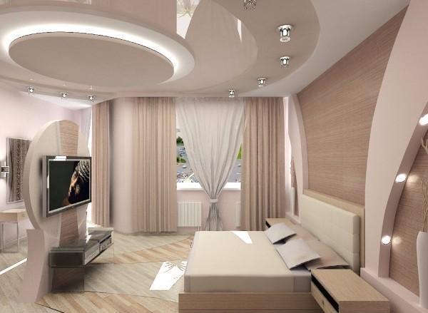 цвет потолка в спальне, фото 16