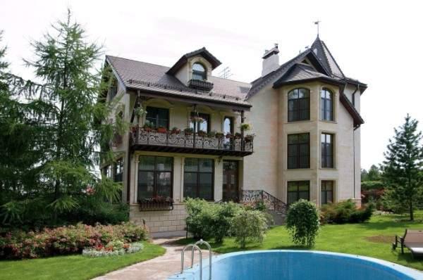 загородный дом в английском стиле