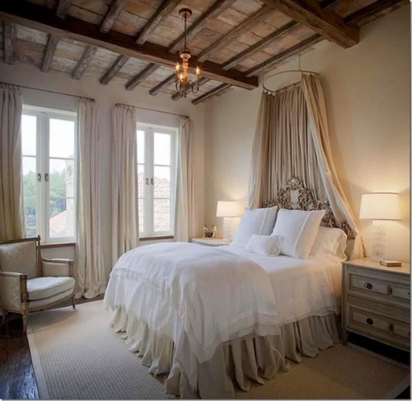 потолок в спальне, фото 41