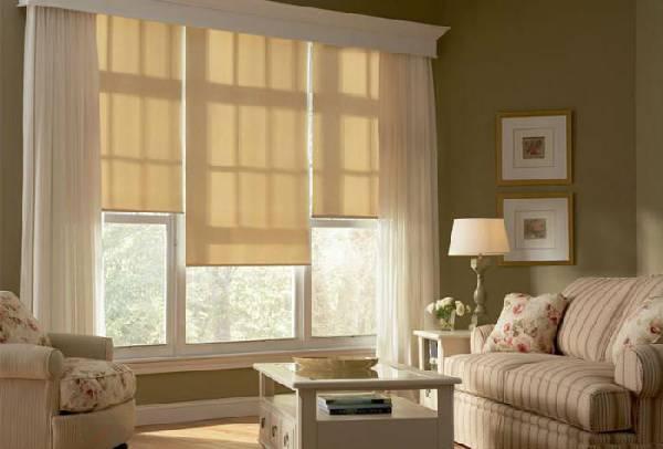 рулонные шторы на пластиковые окна, фото 5