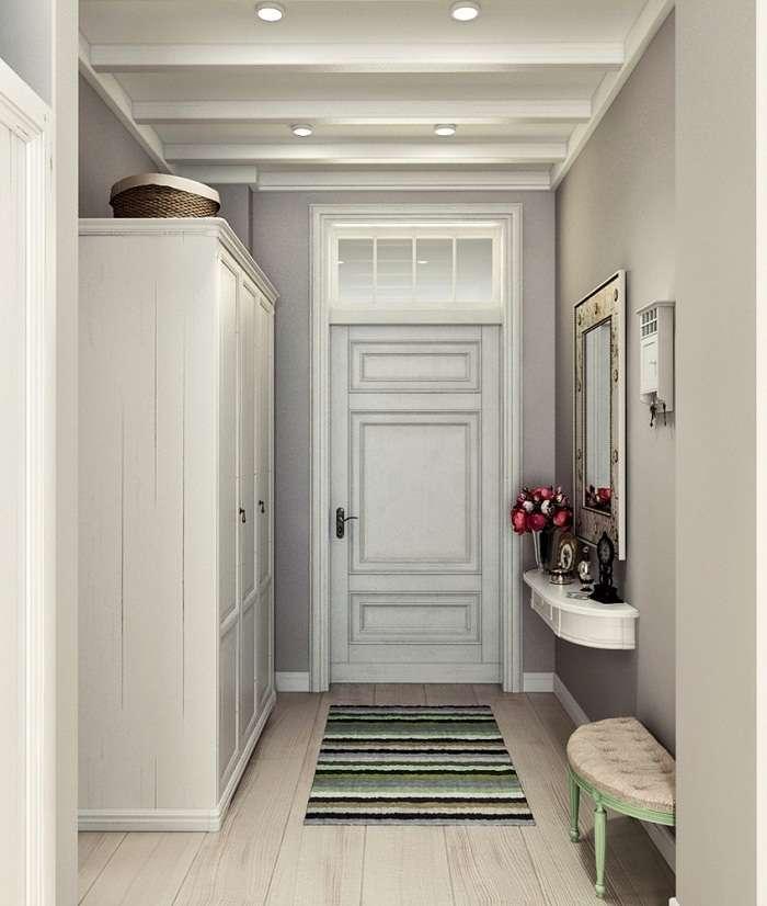 дизайн интерьера двухкомнатной квартиры, фото 1