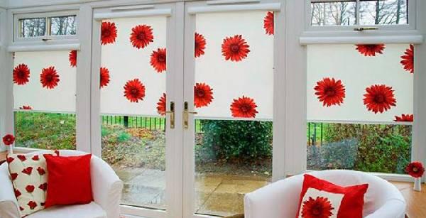 рулонные шторы на пластиковые окна без сверления, фото 6
