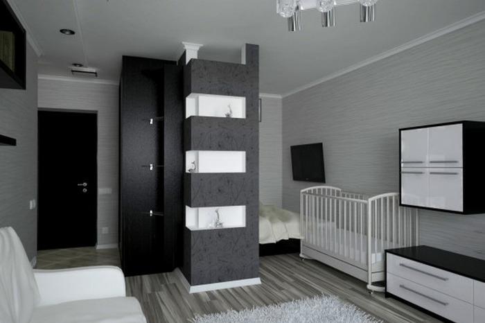 стили в интерьере однокомнатной квартиры фото, фото 7