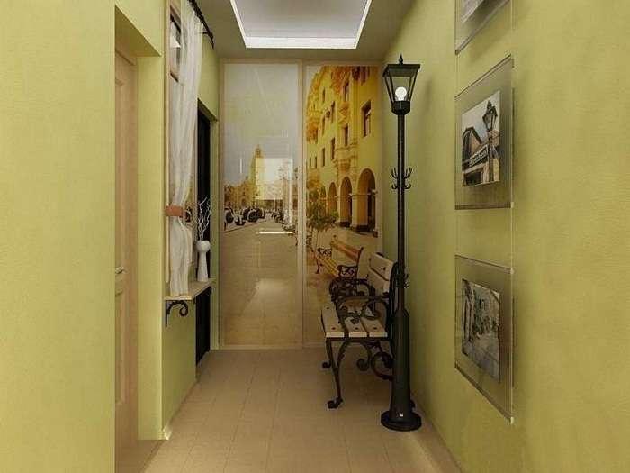 дизайн интерьера двухкомнатной квартиры, фото 4